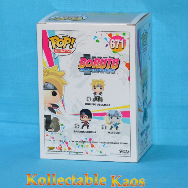 Boruto: Naruto Next Generations - Boruto Uzamaki Pop! Vinyl Figure