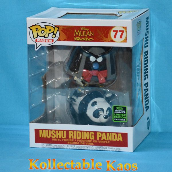 2020 ECCC - Mulan (1998) - Mushu on Panda Pop! Rides Vinyl Figure