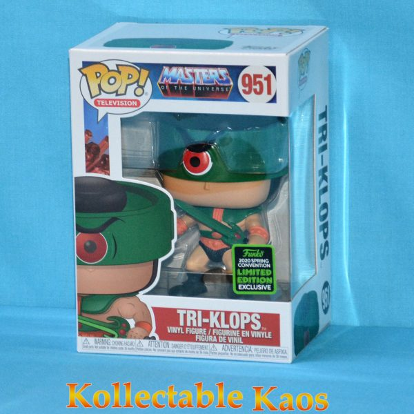 2020 ECCC - Masters Of The Universe - Tri-Klops Pop! Vinyl Figure