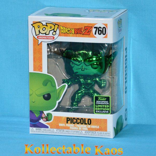 2020 ECCC - Dragon Ball Z - Piccolo Green Chrome Pop! Vinyl Figure