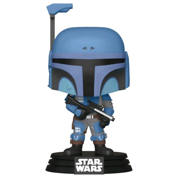 Star Wars: The Mandalorian - Death Watch Mandalorian Two Stripes Pop! Vinyl Figure