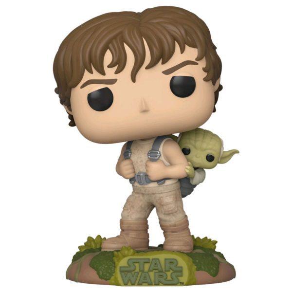 Star Wars Ep V - Luke Skywalker Training with Yoda Pop! Vinyl Figure