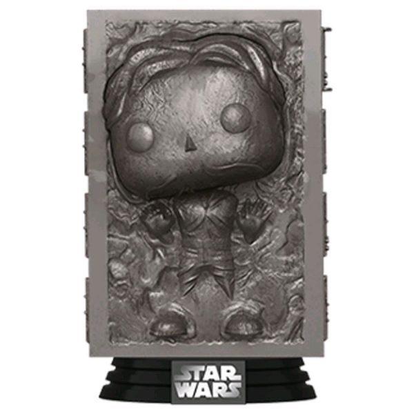 Star Wars Ep V - Han Solo in Carbonite Pop! Vinyl Figure