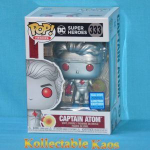2020 WonderCon - DC Super Heroes - Captain Atom Pop! Vinyl Figure