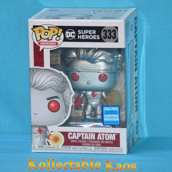 2020 WonderCon - DC Super Heroes - Captain Atom Pop! Vinyl Figure
