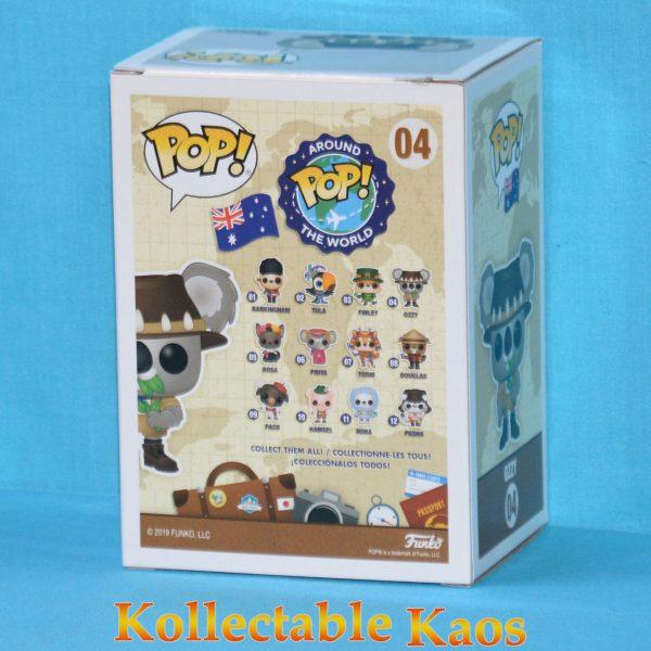 Around the World - Ozzy the Koala with Collector Pin Australia Pop! Vinyl Figure