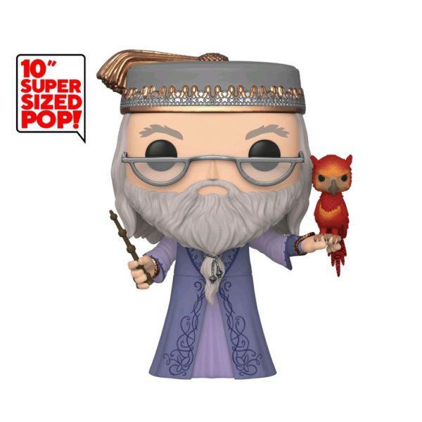 "Harry Potter - Albus Dumbledore with Fawkes 25cm(10"") Pop! Vinyl Figure"