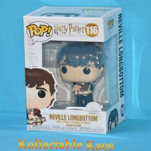 Harry Potter - Neville Longbottom with Monster of Monsters Book Pop! Vinyl Figure