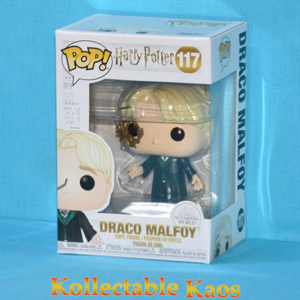 Harry Potter - Draco Malfoy with Whip Spider Pop! Vinyl Figure