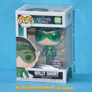 Artemis Fowl - Holly Short Metallic Pop! Vinyl Figure
