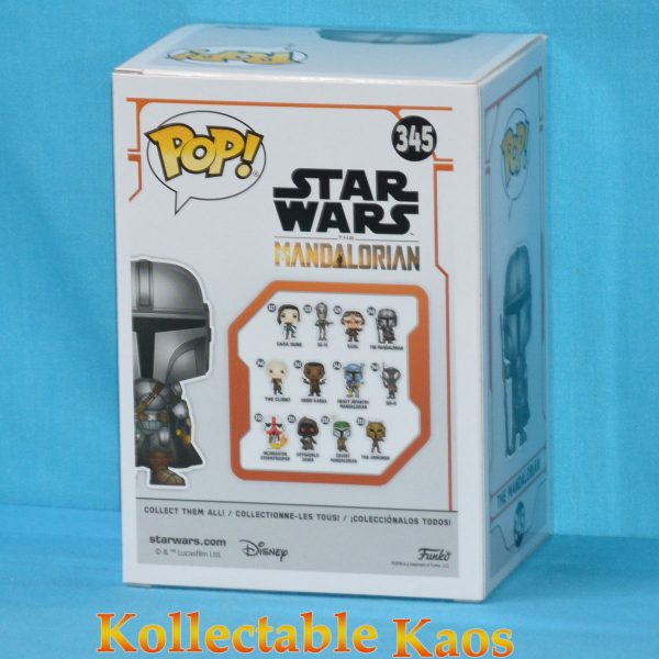 Star Wars: The Mandalorian - The Mandalorian Chrome Pop! Vinyl Figure