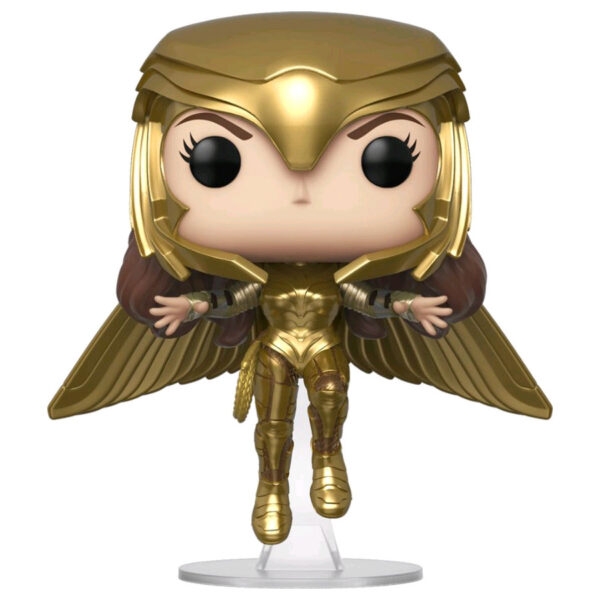 Wonder Woman 1984 - Wonder Woman Gold Armour Flying Pose Pop! Vinyl Figure