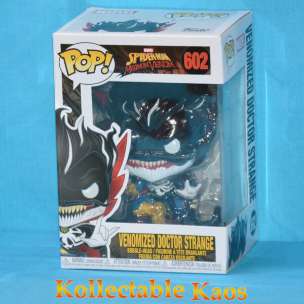 Spider-Man - Venomized Doctor Strange Glow in the Dark Pop! Vinyl Figure