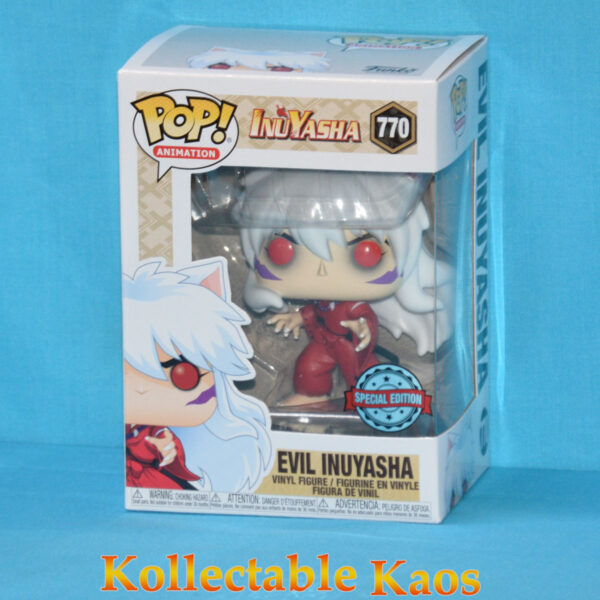 Inuyasha - Evil Inuyasha Pop! Vinyl Figure