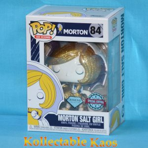Ad Icons - Morton Salt Girl Diamond Glitter Pop! Vinyl Figure