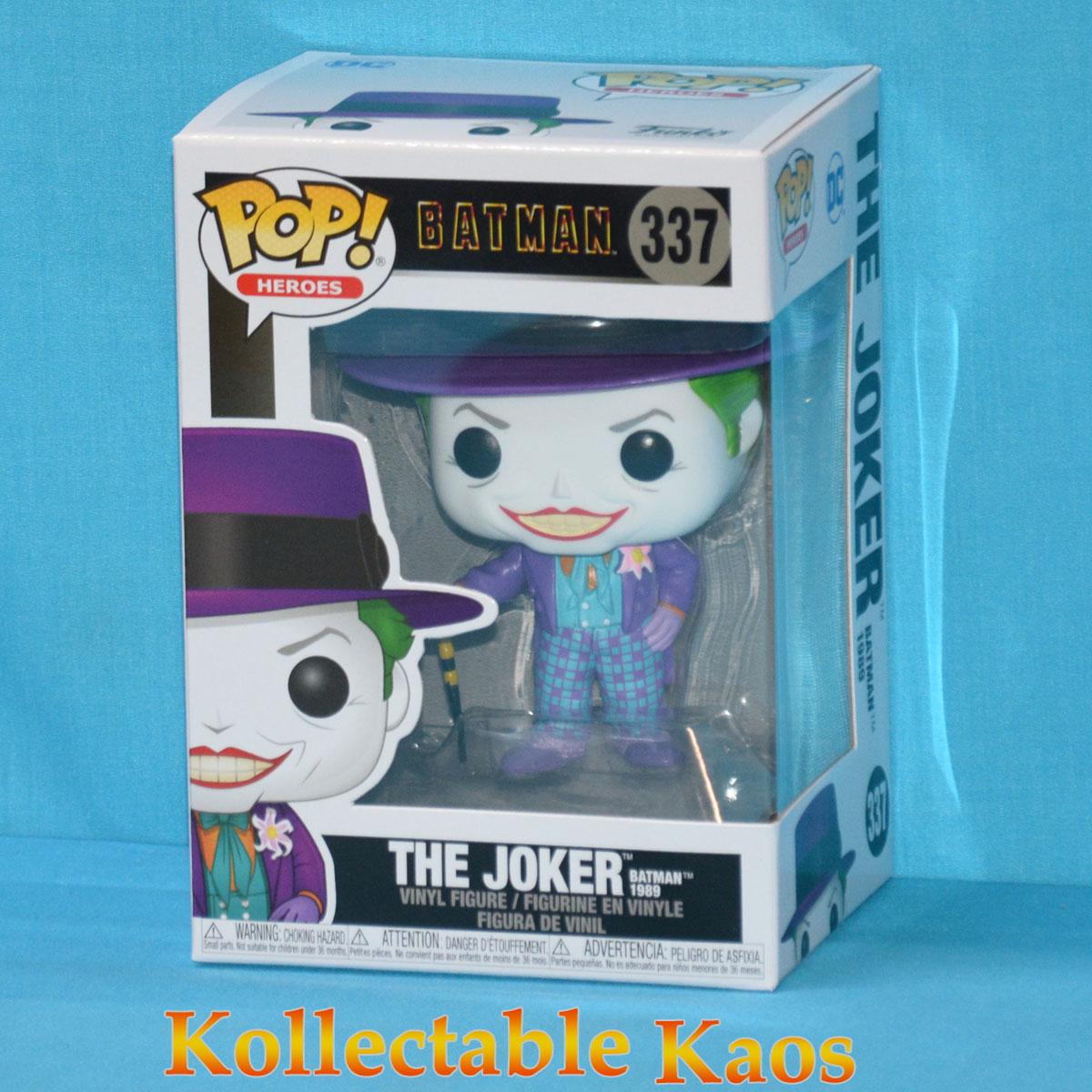 Batman 1989 The Joker Pop Vinyl Figure 337 Kollectable Kaos
