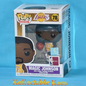 NBA Basketball - Magic Johnson L.A. Lakers Pop! Vinyl Figure