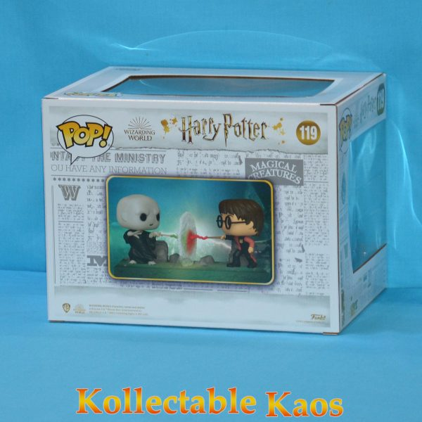 Harry Potter - Harry vs Voldemort Movie Moments Pop! Vinyl Figure 2-Pack