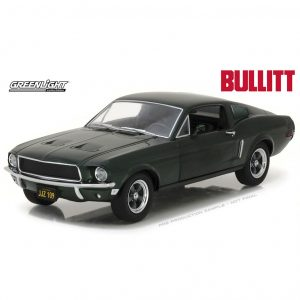 1:24 Greenlight - 1968 Ford Mustang GT Fastback - Bullitt