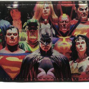 DC Comics Heroes Vs Villains Bi-fold Wallet