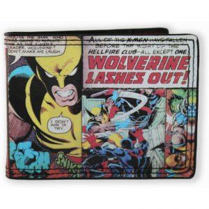 Marvel Wolverine Comic Bi-fold Wallet