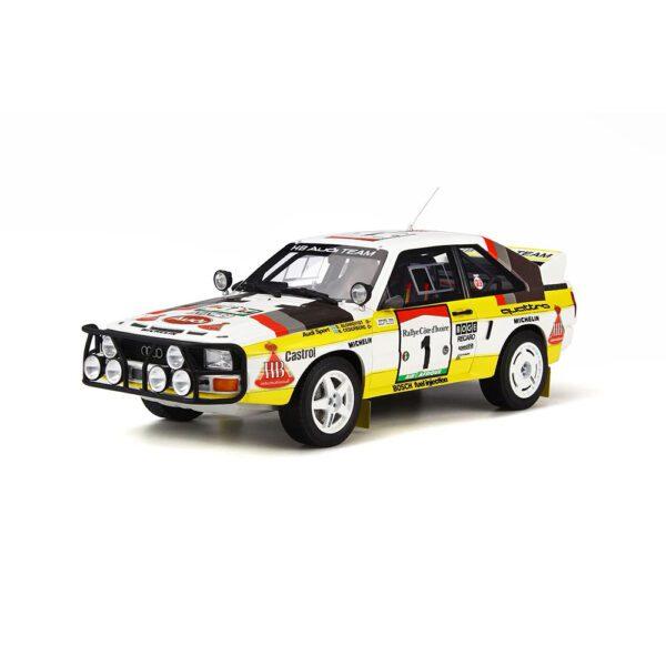 1:18 Audi Quattro Sport Group B E2 - 1984 Safari Rally - Blomqvist/Cederberg