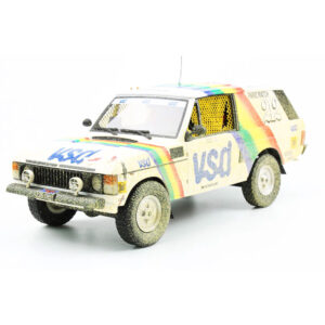 1:18 1981 Paris-Dakar Rally - Range Rover - Rene Metge/Bernard Giroux - Dirty Version