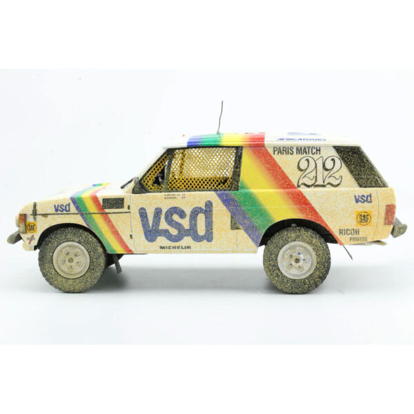 1:18 1981 Paris-Dakar Rally - Range Rover - Rene Metge/Bernard Giroux - Dirty Version