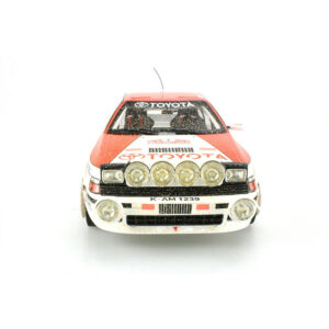 1:18 1991 Monte-Carlo Rally - Toyota Celica ST165 GT-Four - Sainz/Moya - Dirty Version