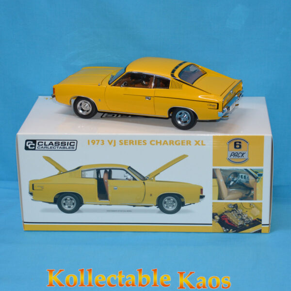 1:18 Classics - 1973 VJ Series Charger XL - Sunfire Yellow