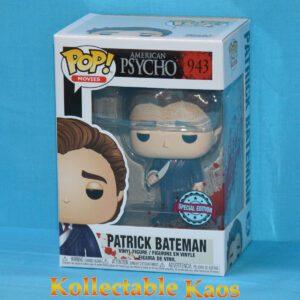 American Psycho - Patrick Bateman with Knife Pop! Vinyl Figure
