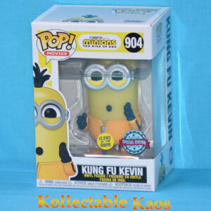 Minions 2 - Kung Fu Kevin Glow in the Dark Pop! Vinyl Figure