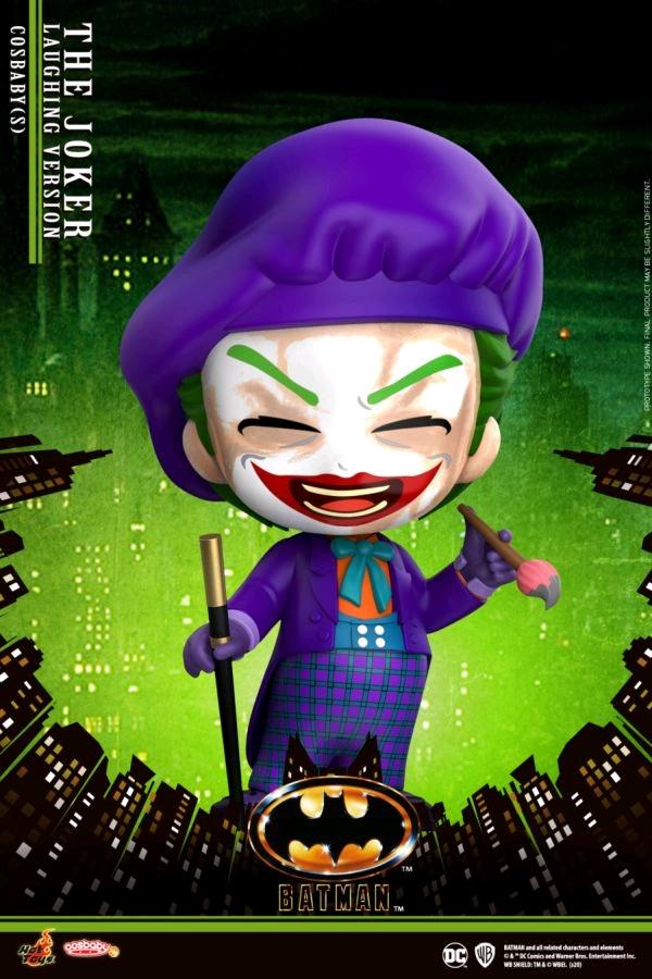 Batman (1989) - The Joker Laughing Cosbaby (S) Figure