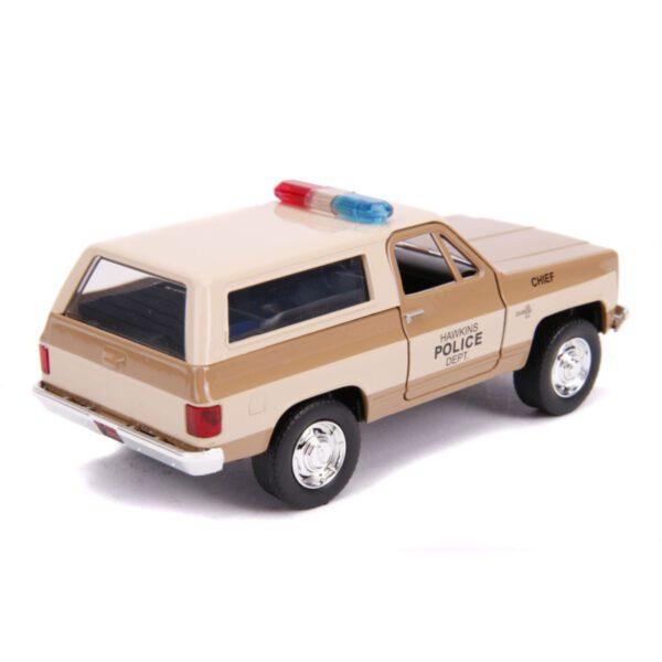 1:32 Jada Hollywood Rides - Stranger Things - 1980 Chevy K5 Blazer