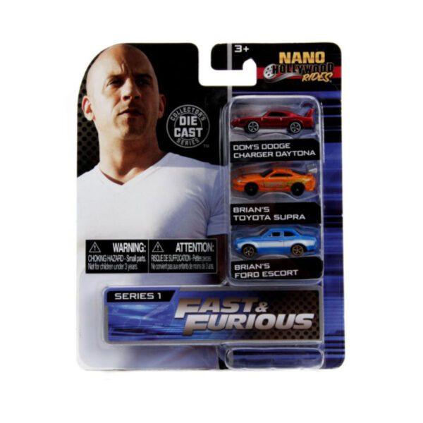 Nano Hollywood Rides - Fast & Furious - Series 1