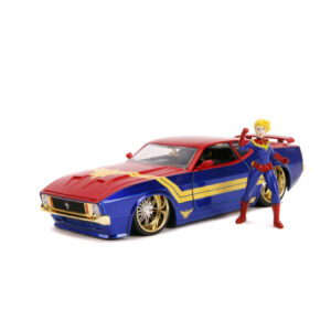 1:24 Jada Hollywood Rides - Captain Marvel - 1973 Ford Mustang Mach 1