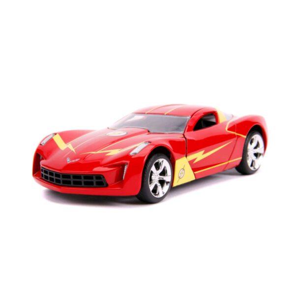 1:32 Jada Hollywood Rides - Flash - 2009 Chevy Corvette Stingray