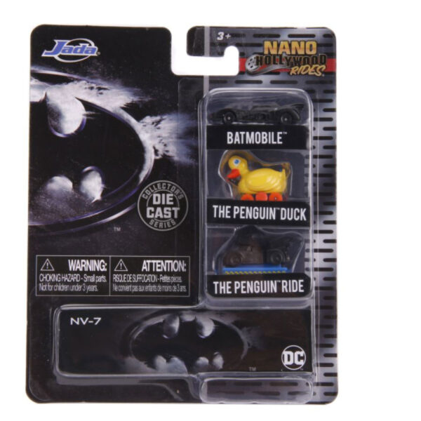 Nano Hollywood Rides - Batman Returns 3-pack