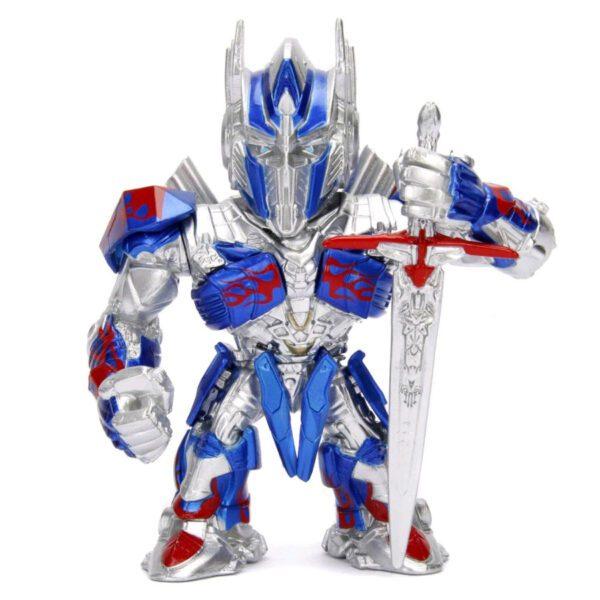 "Transformers: The Last Knight - Optimus Prime 10cm(4"") Metals Die-Cast Action Figure"