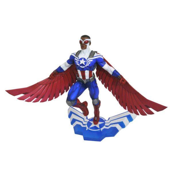 "Captain America - Sam Wilson as Captain America Marvel Gallery 25cm(10"") PVC Diorama Statue"