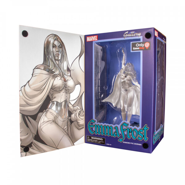 "X-Men - White Queen Emma Frost Marvel Gallery 22cm(9"") PVC Diorama Statue"