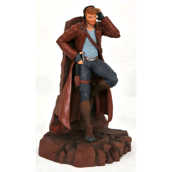 """Guardians of the Galaxy - Star-Lord Comic Marvel Gallery 22cm(9"""") PVC Diorama Statue"""