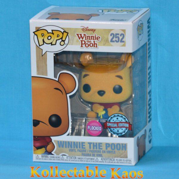 Winnie the Pooh - Winnie the Pooh Flocked Pop! Vinyl Figure