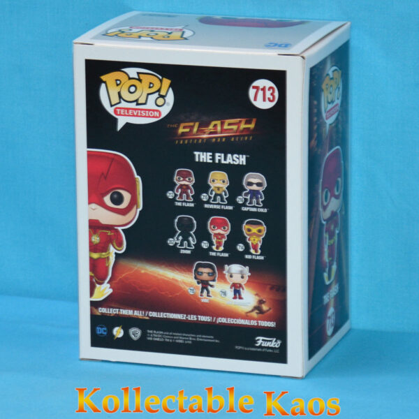 The Flash (2014) - The Flash Running Pop! Vinyl Figure