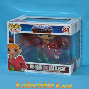 Masters of the Universe - He-Man on Battle Cat Pop! Rides Vinyl Figure