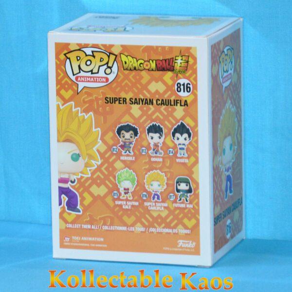 Dragon Ball Super - Super Saiyan Caulifla Pop! Vinyl Figure