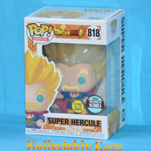 Dragon Ball Super - Super Saiyan Hercule Glow in the Dark Pop! Vinyl Figure