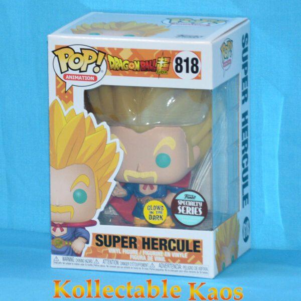 Dragon Ball Super - Super Saiyan Hercule Glow in the Dark Pop! Vinyl Figure