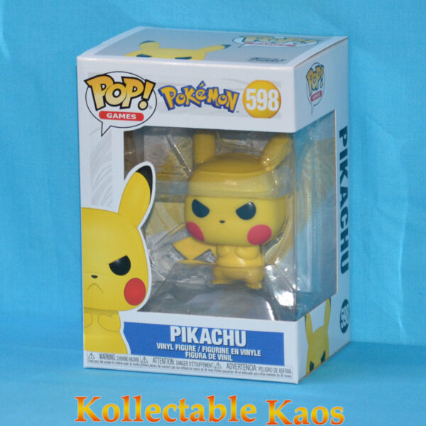 Pokemon - Pikachu Grumpy Pop! Vinyl Figure