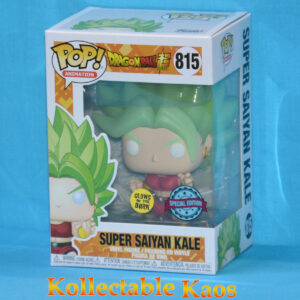 Dragon Ball Super - Super Saiyan Kale Glow in the Dark Pop! Vinyl Figure
